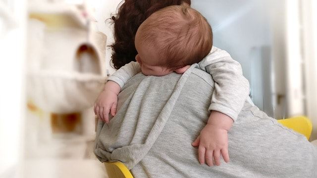 Safe co sleeping positions for you and your baby