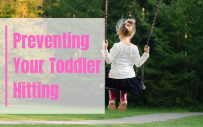 Toddler Hitting and How To Prevent it