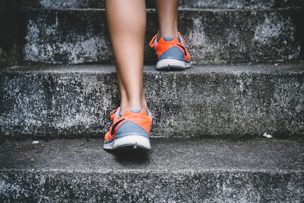 Walking up stairs for exercise during pregnancy
