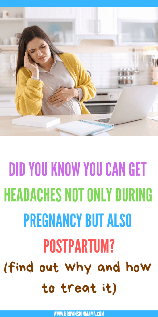 Postpartum headaches are very real to a lot of pregnant women. Get some tips on how these headaches are caused and what you can do to treat it