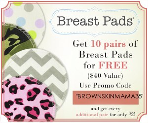 FREE stuff for mom - breast pads