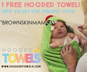 Hooded towel - Free stuff for mom