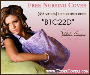 Breastfeeding cover - Free stuff for mom
