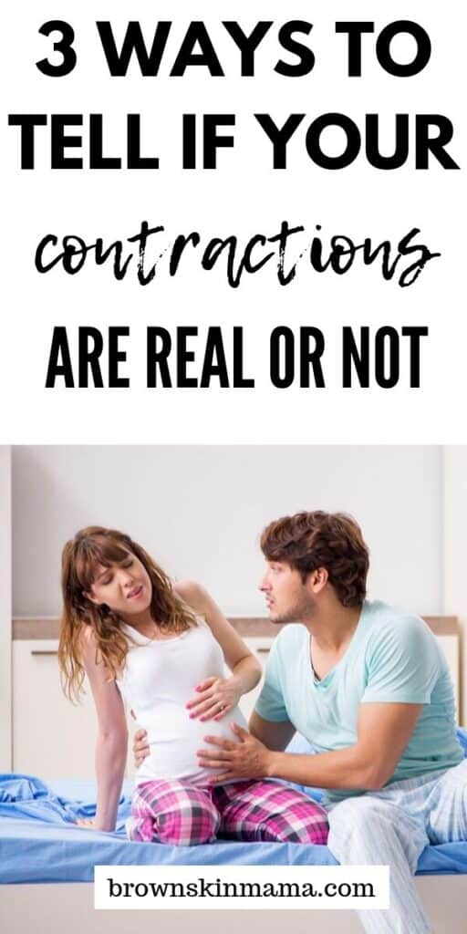Want to know if you are having real contractions in pregnancy Vs Braxton hicks? You can find out easily with these 3 tips!