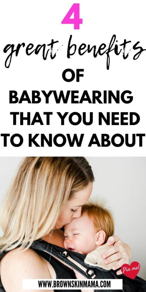Babywearing can be so beneficial to a new mom. There are many different types of baby wraps to suit your needs. Learn everything you need to know about babywearing right here.