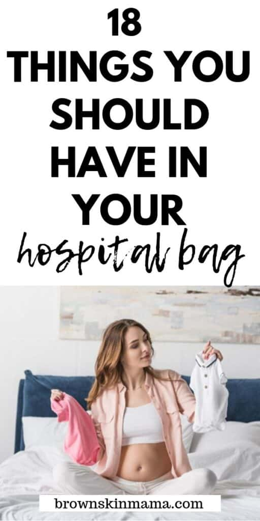 Find out what to pack inside your hospital bag. This ultimate hospital bag checklist is great for moms to be and includes a checklist too!