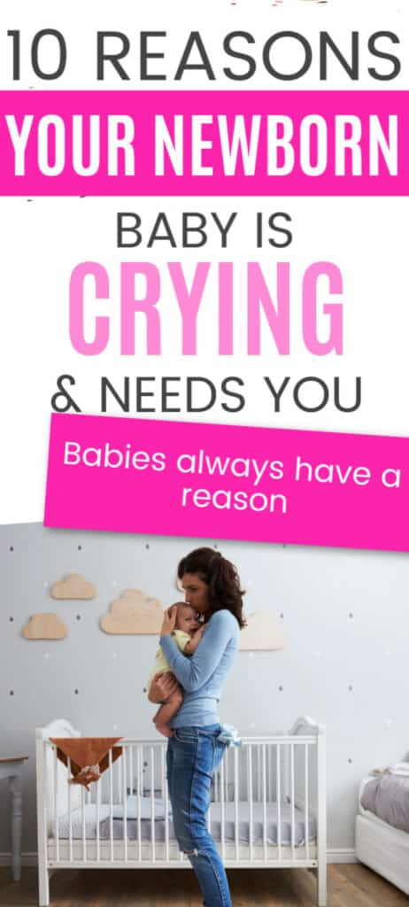 This is why your newborn is crying