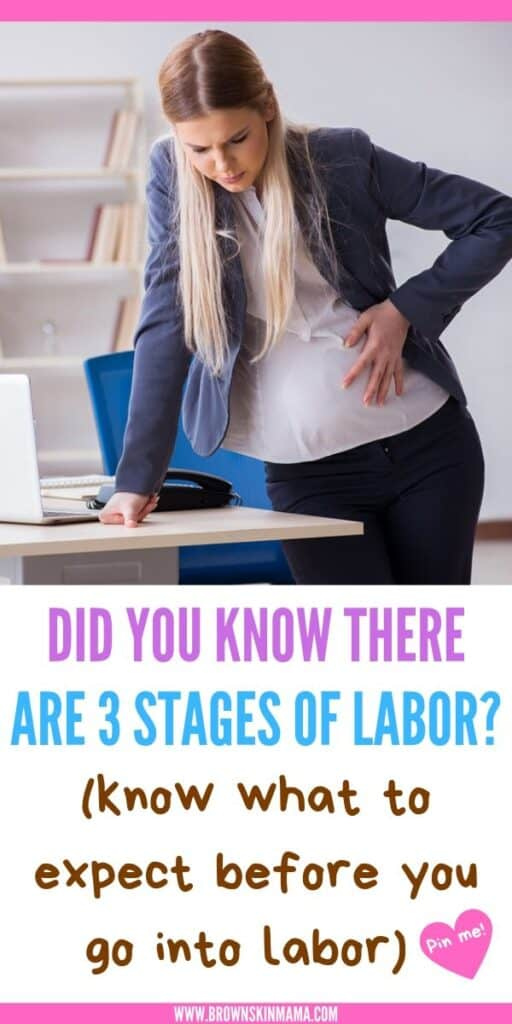 There are 3 stages of labor and delivery that you need to know about before you give birth. At each of the stages your contractions will feel different and your cervix dilation will increase. Everything you need to know about early labor to transitional labor can be found right here.