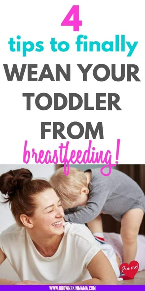 Weaning your baby or toddler from breastfeeding doesn't have to be a nightmare. You can follow these tips so weaning doesn't have to be hard. You can use these techniques to help the transition on to solids much easier.