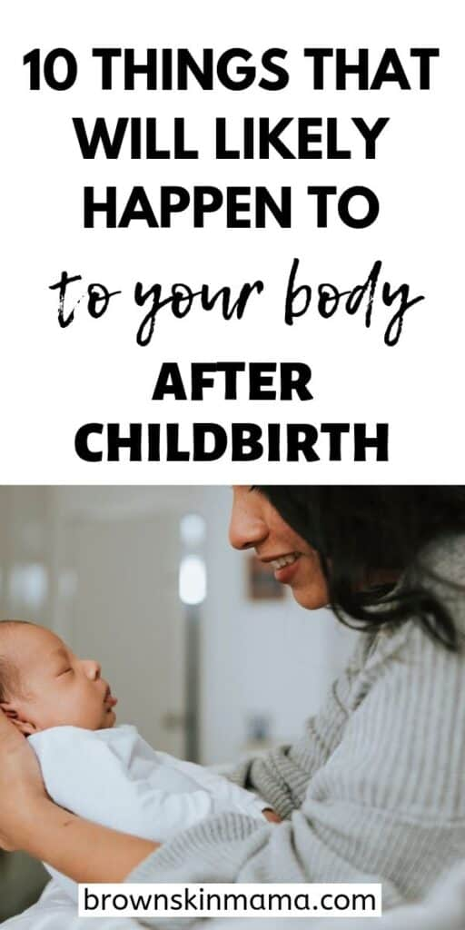 10 facts about your body after childbirth and what postpartum recovery will be like during the fourth trimester