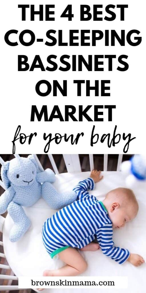 Find the best co sleeping bassinet for your baby. These 4 products are the best currently on the market for both mom and baby.