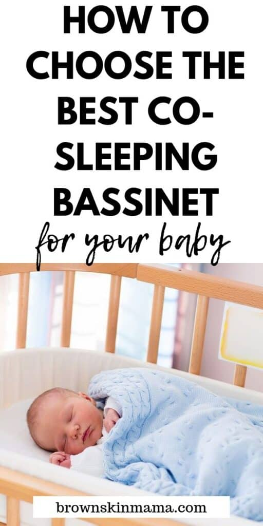 Here's how to find the best co-sleeper bassinet for your baby. I've included 4 products which are currently the best on the market for safe sleeping with your newborn